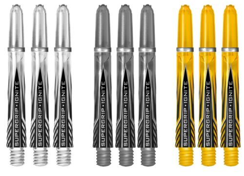 Details about  /3 New Sets Harrows SuperGrip Ignite Midi Dart Shafts Ships w// Tracking