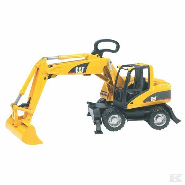 Bruder CAT Wheeled Excavator 1 16 Scale Model Toy Christmas Gift