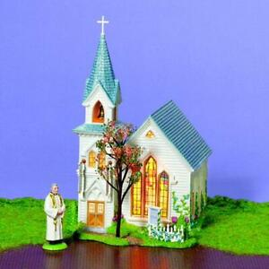 "Department 56 Snow Village ""Happy Easter Church"" #55325 'Brand New' Rare"