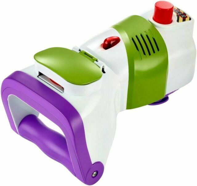 Disney Pixar Toy Story 4 Buzz Lightyear Rapid Disc Launcher