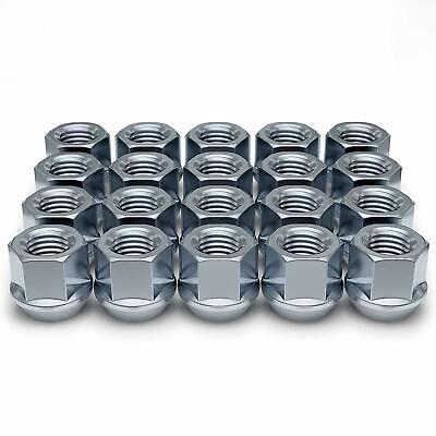 32 LUG NUTS CHROME OPEN END 14x2 14 x 2 LUG NUTS OE FORD EXPEDITION DUALLY F-150