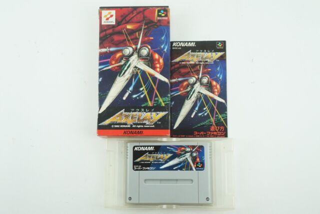 Axelay Snes Konami Nintendo Super Famicom Box From Japan For Sale Online
