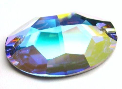 1xSwarovski ® 3210 24x17mm AB Crystal