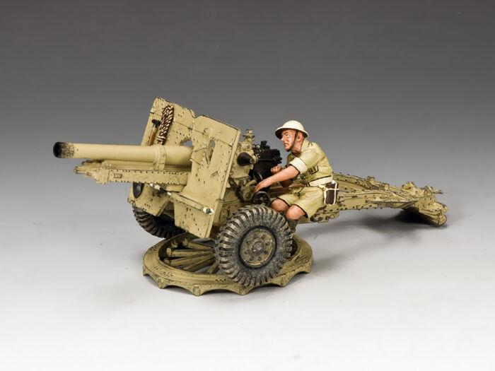 EA087(AU) 25 Pdr. Field Gun (Australian) by King & Country