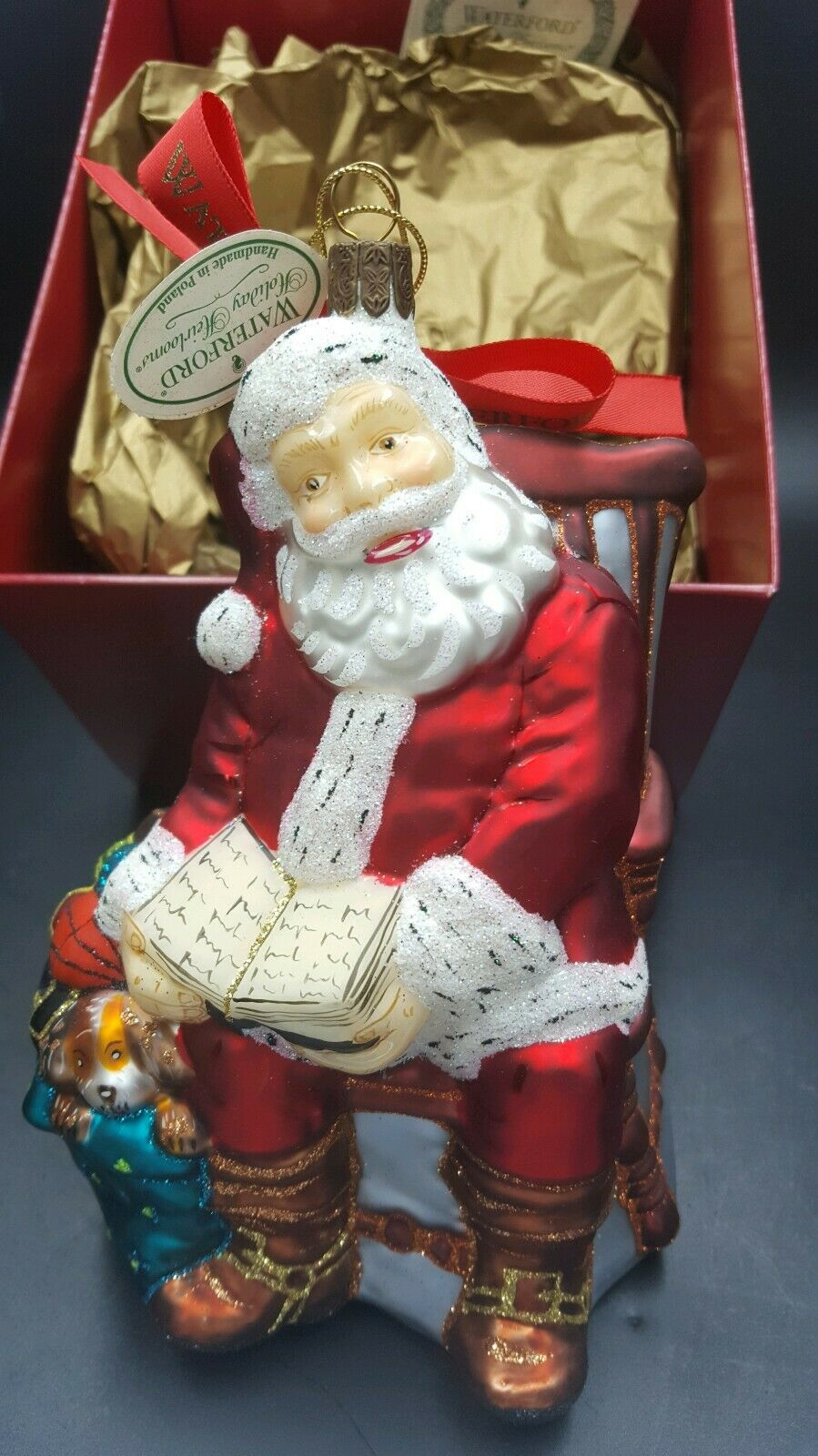 Waterford Holiday Heirlooms 2004 Break Break Break Time for Santa 130823 Limited Edition NIB a8562e