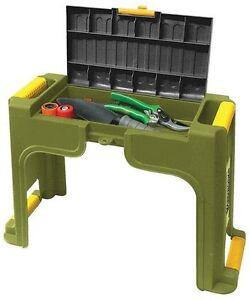 Yardworks Garden Kneeler Seat Bench Tool Storage Knee