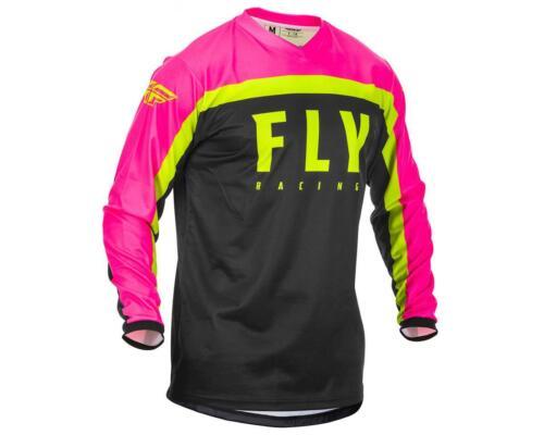 373-9262X-P Fly Racing F-16 Jersey Neon Pink//Black//Hi-Vis