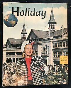 HOLIDAY MAGAZINE - May 1946 - KENTUCKY DERBY Issue / Louisville Kentucky