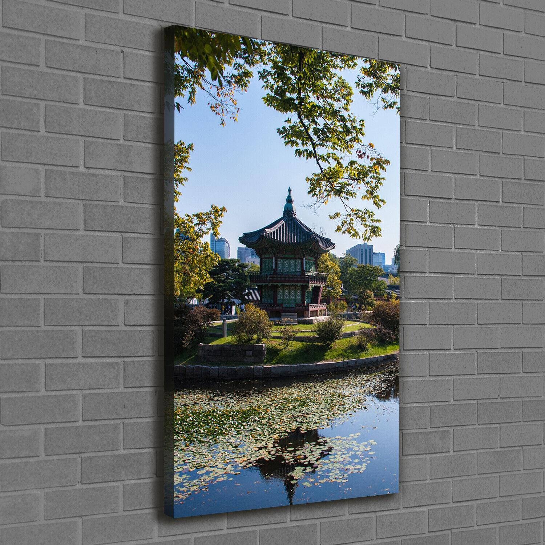 Leinwand-Bild Kunstdruck Hochformat 60x120 Bilder Südkorea
