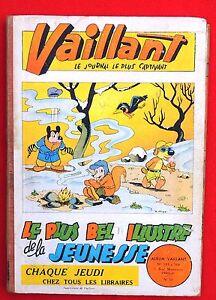 VAILLANT-album-editeur-n-32-n-553-a-564-1955-1956-Bon-etat