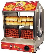 Hot Dog Steamer Family Bun Warmer Sausage Cooker Commercial Concession Machine