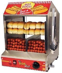 hot dog steamer family bun warmer sausage cooker. Black Bedroom Furniture Sets. Home Design Ideas