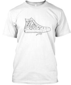 Sneaker-With-Cassette-Design-Premium-Tee-T-Shirt