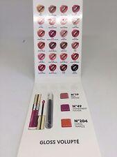 YSL Rouge Gloss Volupte Shine Lipgloss Samples w/ Lip Brush No 19 49 204