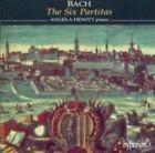 Bach The Six Partitas Angela Hewitt Audio CD