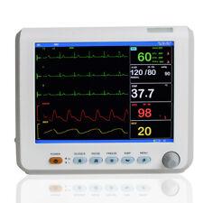 6 Parameters Patient Monitor Cardiac Monitor Ecg Nibp Resp Pr Spo2 Temp Fdace