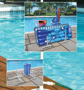 Hydro Tools 8903 Swimming Pool Side Organizer For Towels, Rafts ...