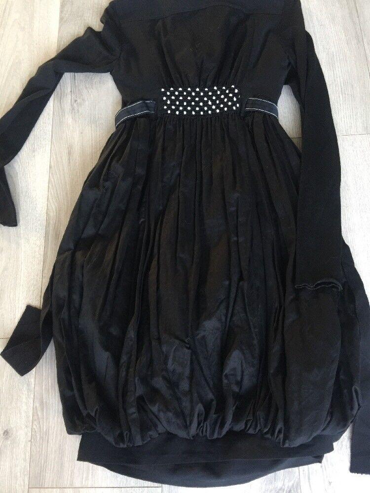 HIGH USE ROBE DRESS neroE MODELE POSE NVE NVE NVE ETQ T38 0ace04