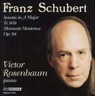 Franz Schubert: Sonata in A Major D. 959; Moments Nusicaux Op. 94 (CD, Jan-1997, Bridge)