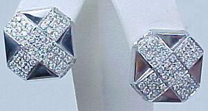 Designer-Chimento-18K-White-Gold-Diamond-Earrings