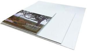 3-Square-30cm-x-30cm-leere-Leinwand-ACRYL-OL-Kuenstler-Malen-Bretter-bvc3030