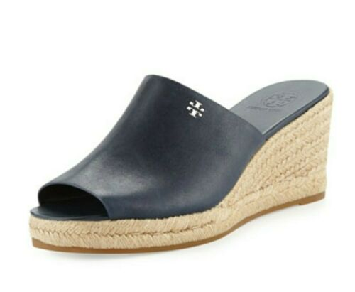 TORY BURCH Bima Espadrilles Wedge Sandals Shoes Si