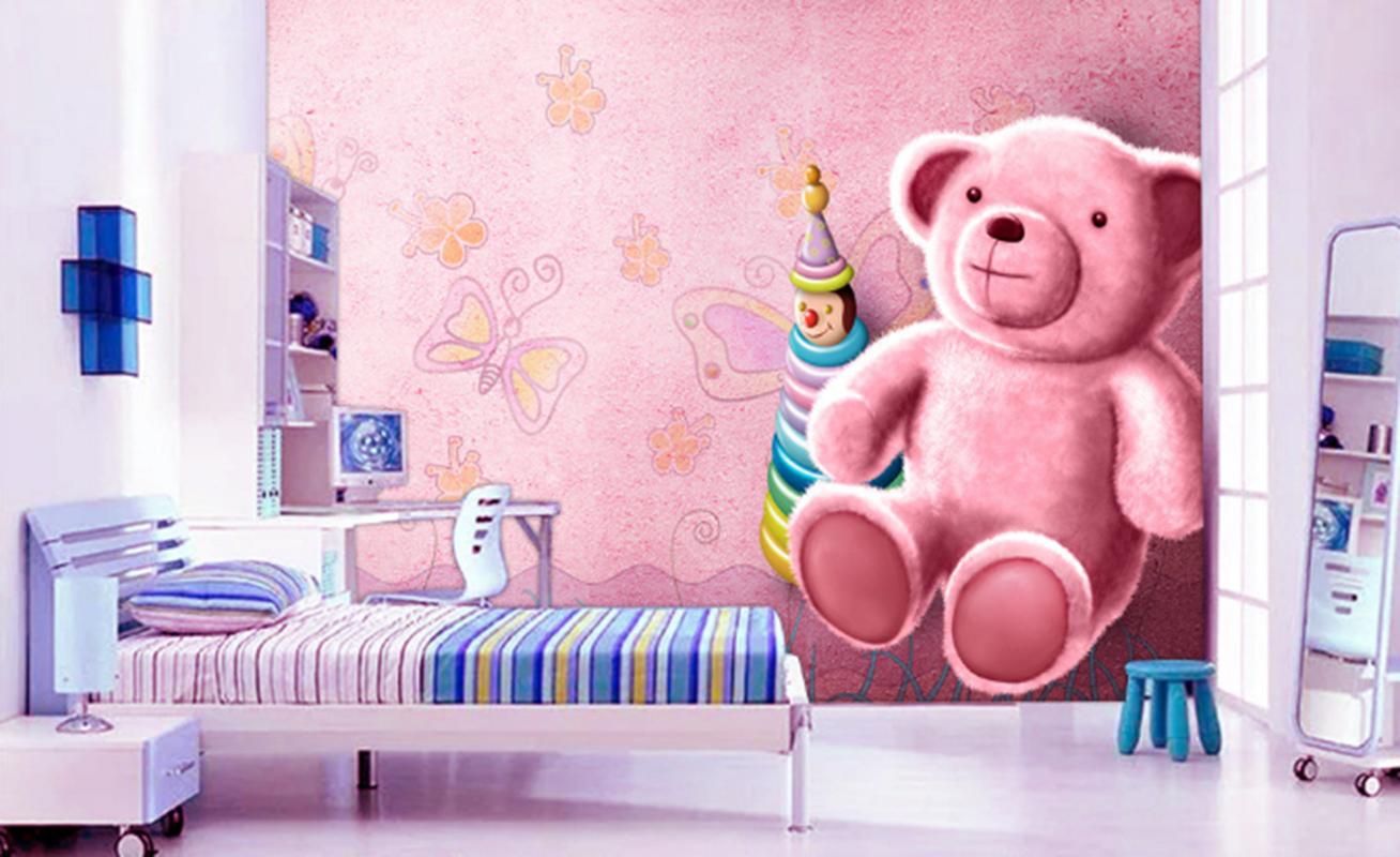 3D Rosa Puppe Bärenkind 895 Tapete Wandgemälde Wandgemälde Wandgemälde Tapeten Bild Familie DE Summer | Treten Sie ein in die Welt der Spielzeuge und finden Sie eine Quelle des Glücks  | Zuverlässiger Ruf  | Feine Verarbeitung  6fb2c4