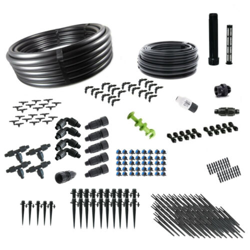 Deluxe Greenhouse Drip Irrigation Kit