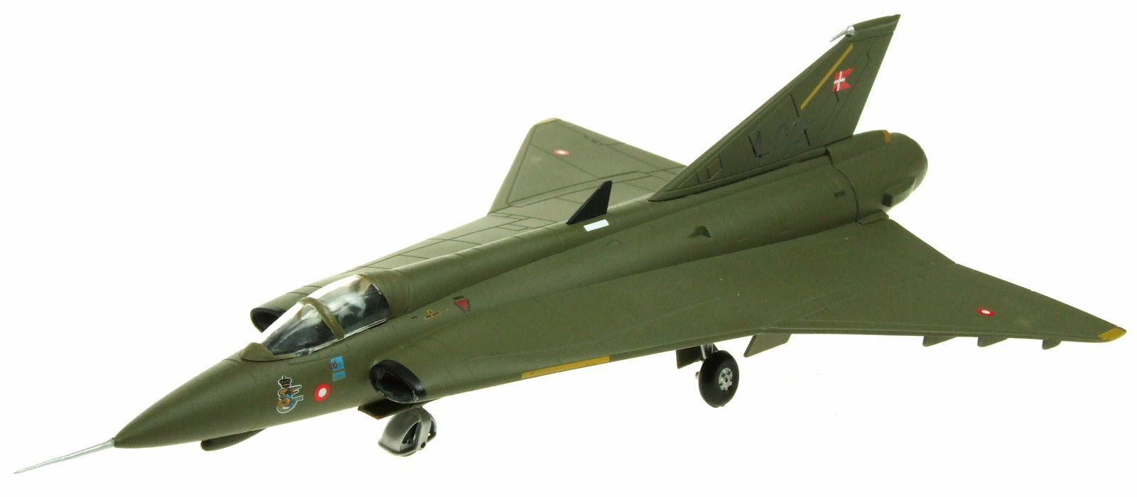 Aviation 72 AV7241007 1/72 SAAB DRAKEN J35 Danish Air Force A-018 con supporto