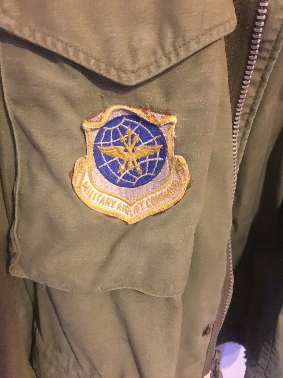 From Louisiana Nation Air Show Patch Trade Air Force Vintage 1980/'s Military Airlift Command Patch