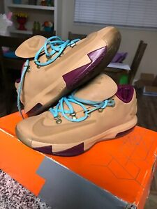 Nike KD 6 EXT Gum QS Kevin Durant Cross
