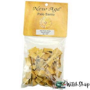 1oz-PALO-SANTO-WOOD-Chunky-Chips-Wicca-Witch-Pagan-Smudging-Blessing-Rituals