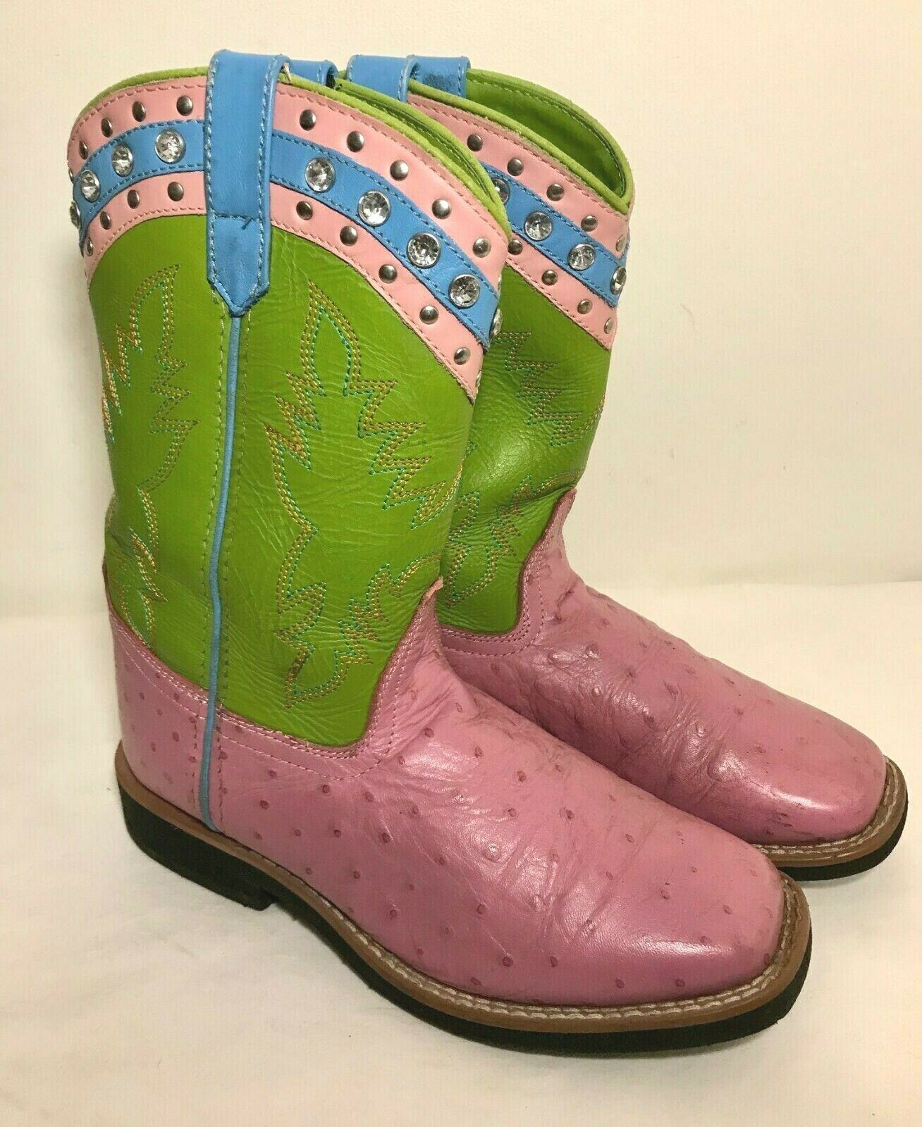 Square Toe 1415Y Smoky Mountain Youth Boys/' Memphis Western Boot