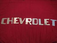 1954 – 1980 Chevrolet Stepside Pickup Truck Tailgate Lettering Decals Set In Chr