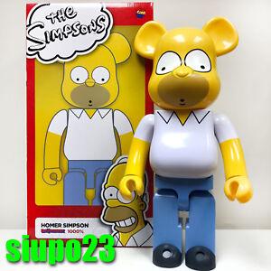 Medicom-1000-Bearbrick-The-Simpsons-Be-rbrick-Homer-Simpson