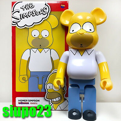 Medicom BE@RBRICK The Simpsons Homer Simpson 100/% Bearbrick Figure