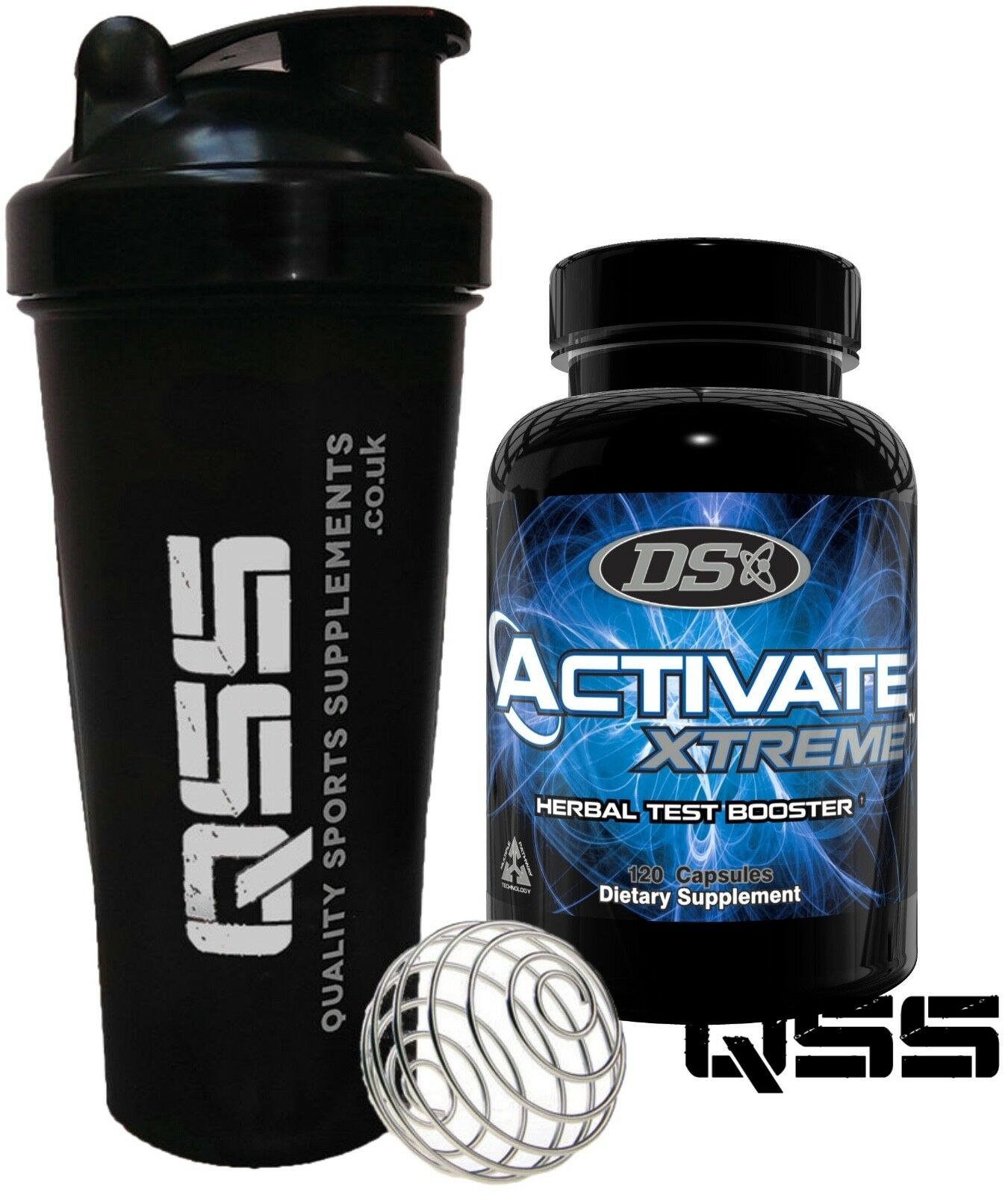 DRIVEN SPORTS DS 120 ACTIVATE XTREME 120 DS CAPS POWERFULL ANABOLIC TEST BOOST + SHAKER 463b73