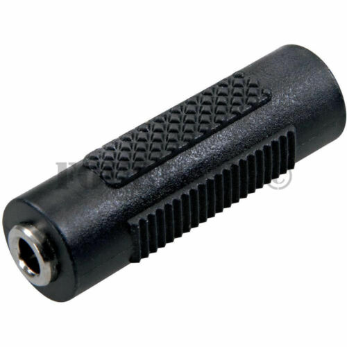 """10 Pack Lot 3.5mm Mono Coupler Extension F//F 1//8/"""" Audio Female Jack Adapter"""