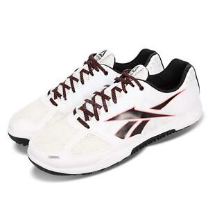 8b7a0bd82ef750 Reebok R CrossFit Nano 2.0 White Black Red Men Cross Training Shoes ...