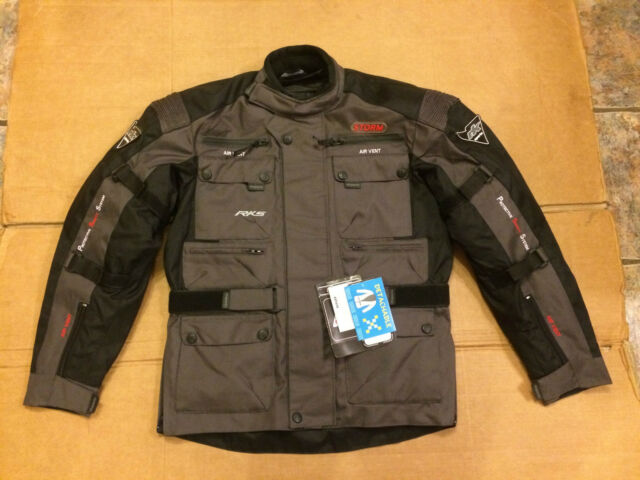 RK SPORTS 'Storm' Mens Textile Motorbike Motorcycle Jacket UK 38