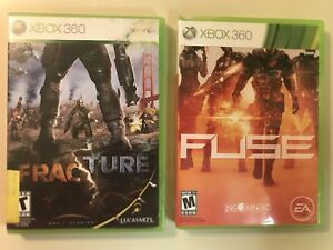 Details about Fracture & Fuse - COMPLET - 2 Game Action Lot (Microsoft on