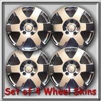 Set 4 Chrome 17 Wheel Skins Hubcaps 2008-2010 Jeep Cherokee Chrome Wheel Covers