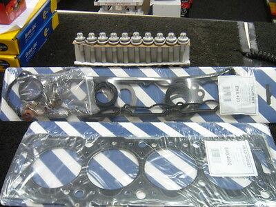 Vauxhall Astra Zafira Gsi Sri Turbo Z20LET Head gasket set /& Tête Boulons Elring