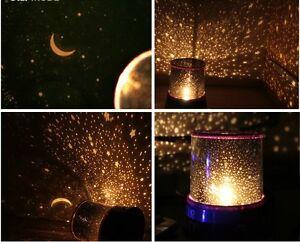 Elegant Image Is Loading Beautiful Cosmos Sky Starry Star Night Light Lamp