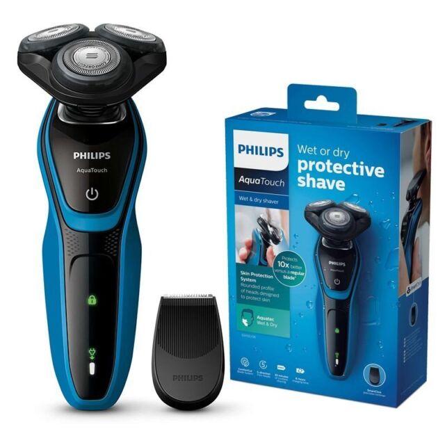 Philips AquaTouch bagnato e asciutto rasoio elettrico S5050/06 ComfortCut IT*3