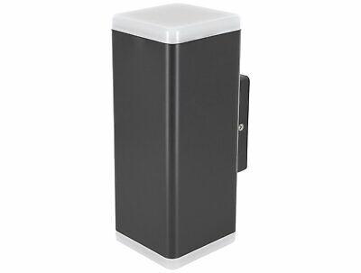 LED Wandaufbauleuchte 3W IP65 230mm Wand Aufbauleuchte Downlight grau schwarz
