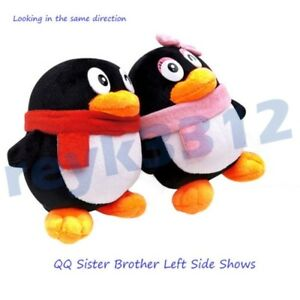 qqM_2Pcs QQ Penguin Cute Plush Toy Stuffed Animal Soft Doll Girl Valentine Love Gift | eBay