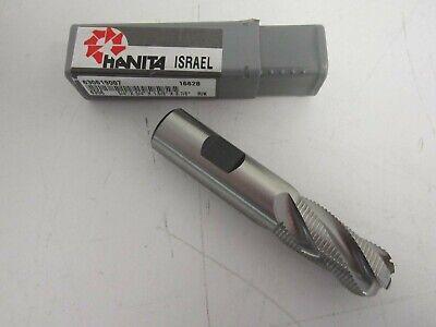 """HANITA M-42 Cobalt End Mills 1/"""" Diameter 2 Flute"""