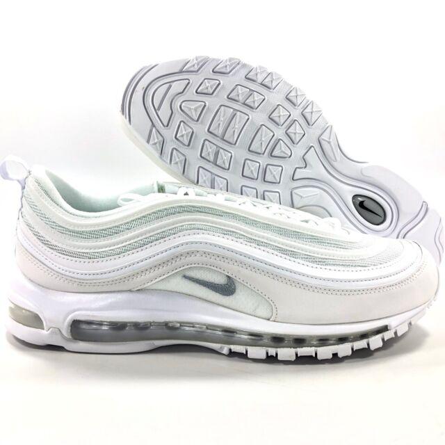 Nike Air Max 97 (921826 101) Men's Shoes US 8.5, WhiteBlackWolf Grey