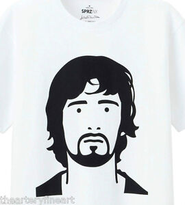 JULIAN-OPIE-x-UNIQLO-039-Gary-Popstar-039-SPRZ-NY-Graphic-Art-T-Shirt-M-NWT